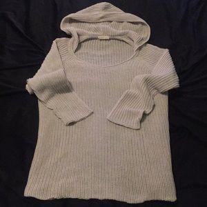 Eileen Fisher 100% Organic Cotton hoodie